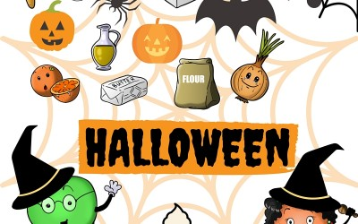 Halloween: Traditions and Games and Free Halloween Printables in English & Spanish