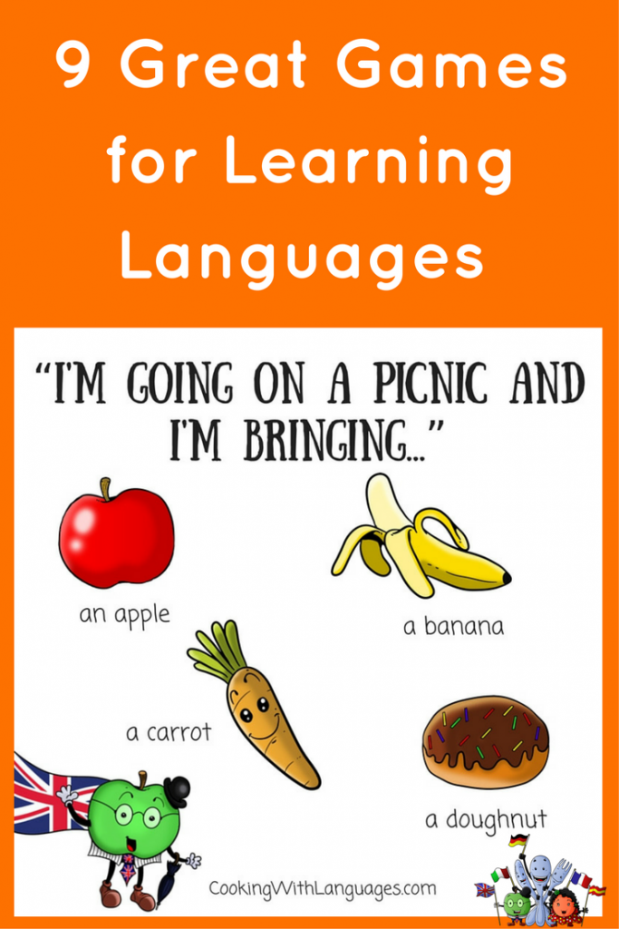 Games for Learning Languages