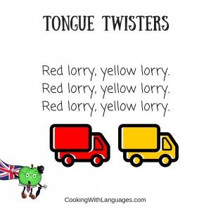English and Spanish Tongue Twisters