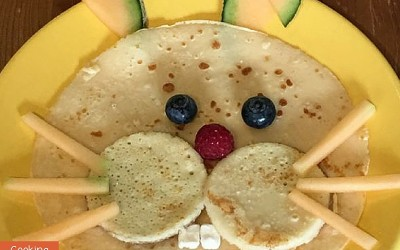 Easy Easter Recipe: Easter Bunny Pancakes