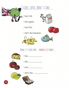 verb to like in english