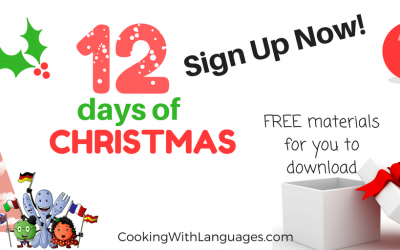 12 Days of Christmas: Spanish and English Materials Giveaway