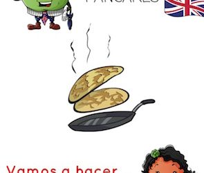 Arthur Apple Bilingual App: Let's Make PANCAKES/ Hacemos Crepes