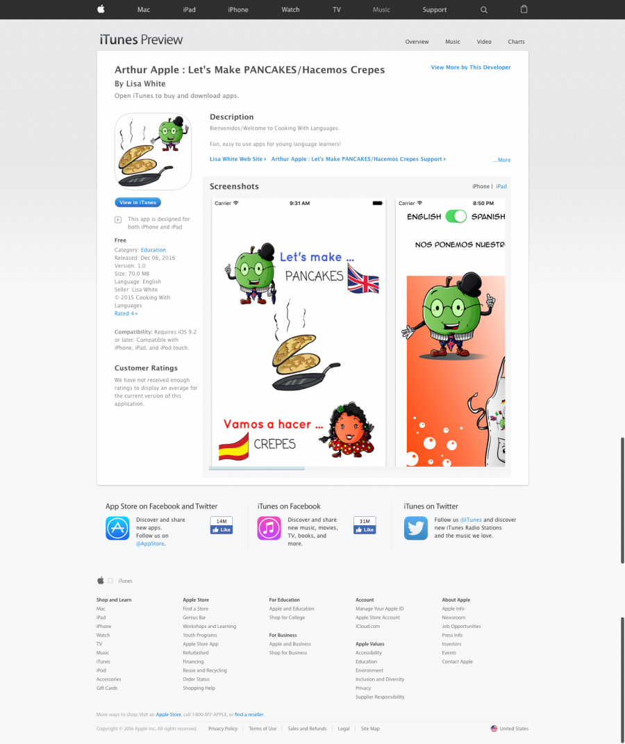 arthur-apple-bilingual-app