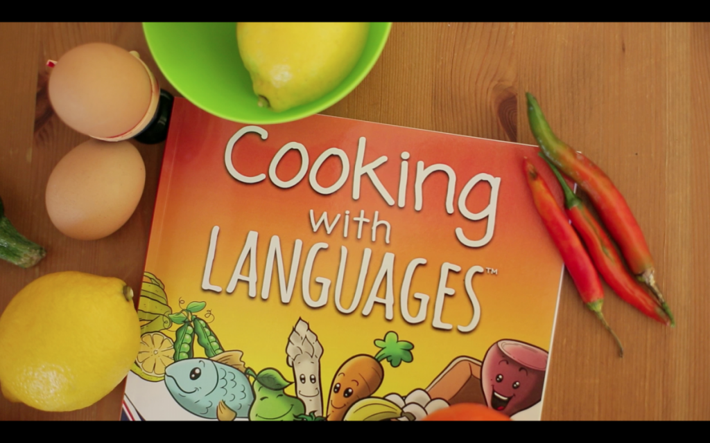 Learning a language through cooking