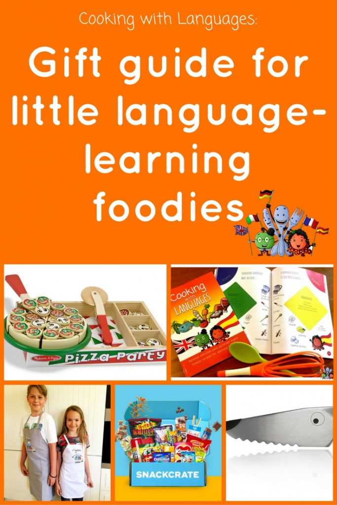 Food Gift Ideas guide for little language-learning foodies
