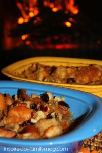 Capirotada, Mexican sweet bread pudding
